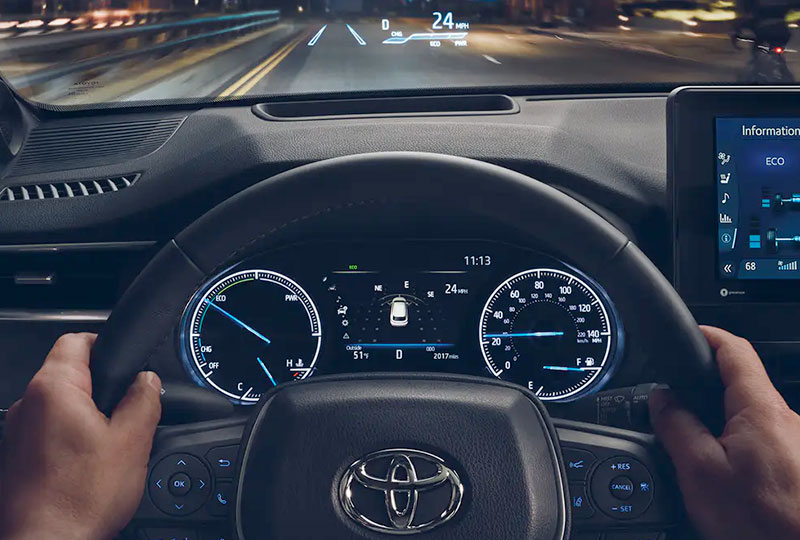 2021 Toyota Venza Technology right before your eyes.