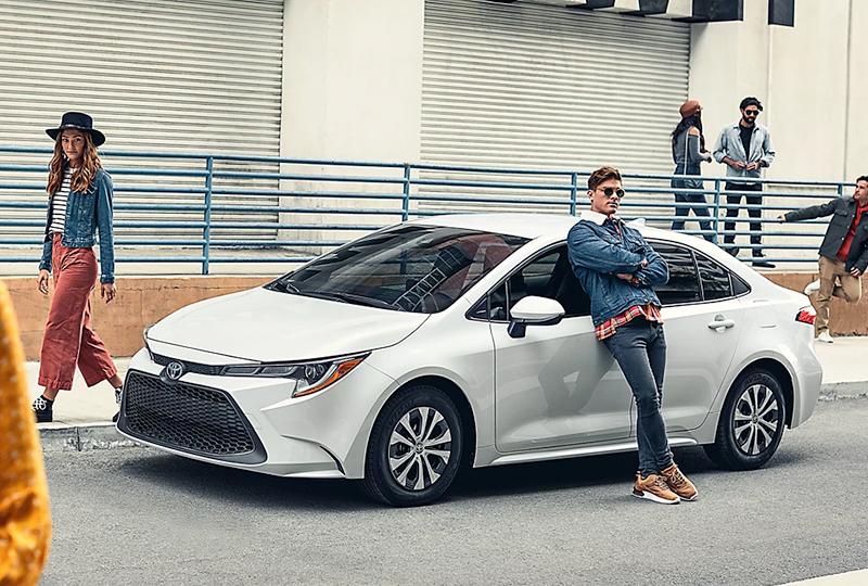 2022 Toyota Corolla Hybrid Design