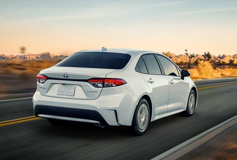 2022 Toyota Corolla Hybrid Performance