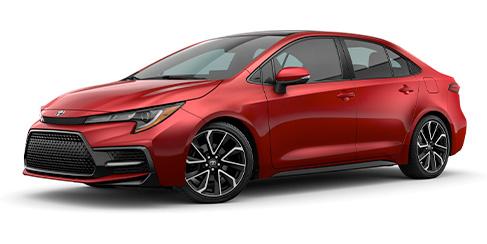 2021 Toyota Corolla trims