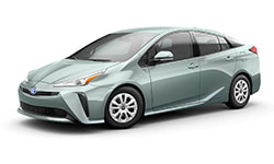 2021 Toyota Prius trims