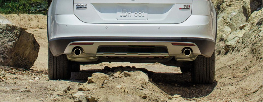 Increased ground clearance