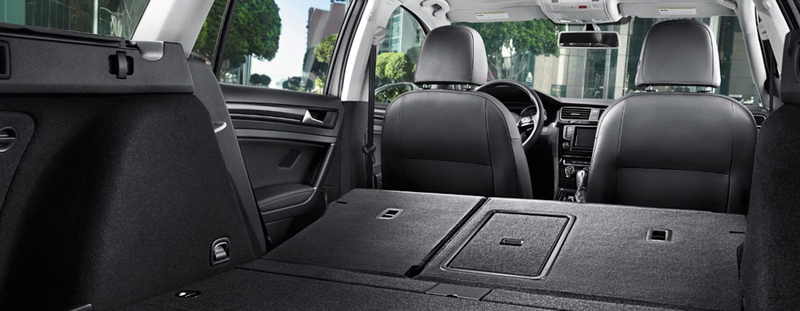 66.5 cu. ft. of cargo space with rear seats folded