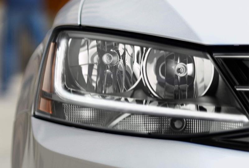 Halogen Headlights With Led Daytime Running Lights Drl