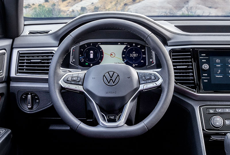 2020 atlas Sport CP Volkswagen Digital Cockpit