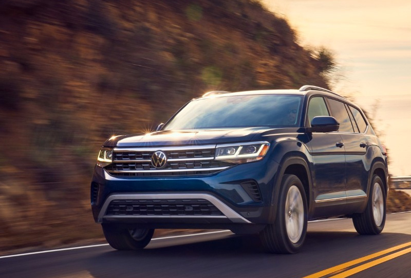 2021 VW Atlas  performance