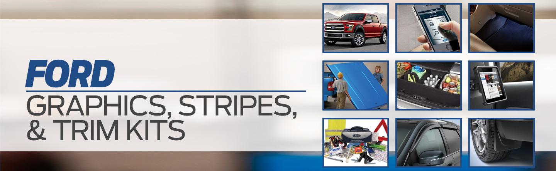 Ford graphics stripes trim kits Pompano Beach FL