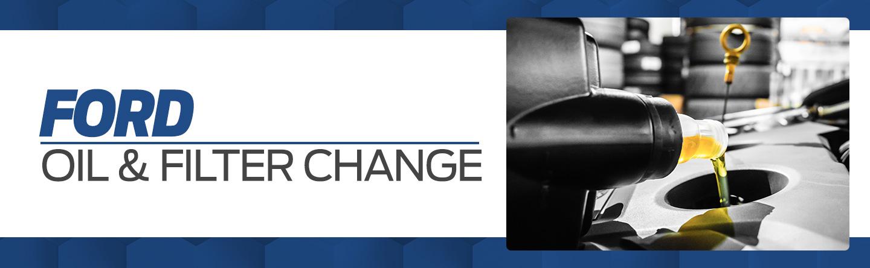 Ford oil filter change service Pompano Beach FL