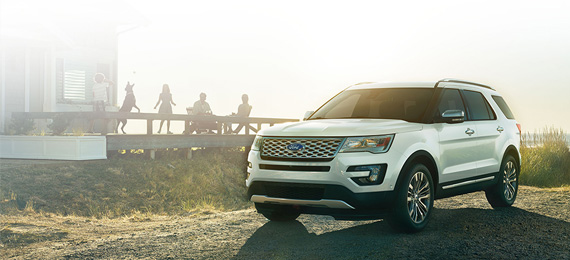 2017 Explorer Exterior Styling