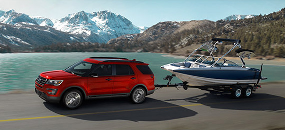 2017 Explorer Towing Capability