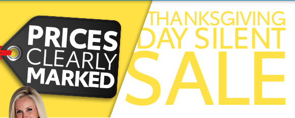 Thanksgiving Day Silent Sale